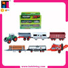 10174498 wholesale toy EN71 slide metal funny farm toy tractor car