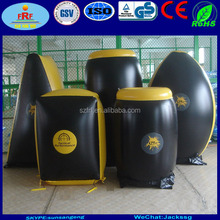 Heavy Duty PVC Inflatable Paintball Bunker