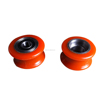 Custom size durable plastic roller wheels for window