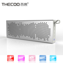 THECOO BTD718K musical instrument thecoo new brand bluetooth speaker with waterproof