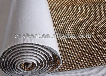 3mm Crystal Hot Fix Rhinestone Mesh