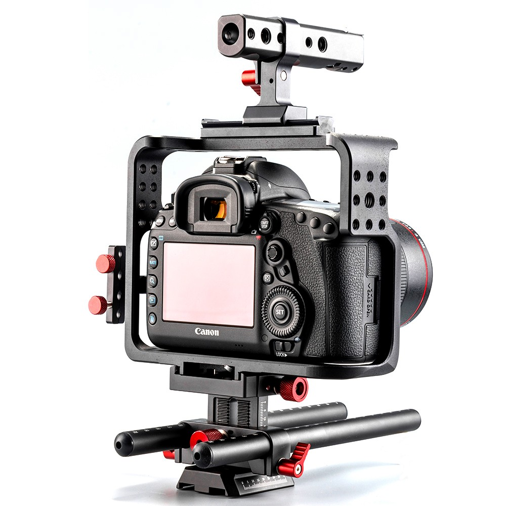 2016 New Product Film Shooting DSLR Camera Cage for 5D Mark IV Digital Camera