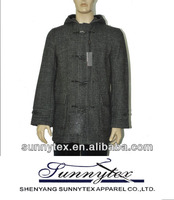 2013 hot sales high quality wool winter coat