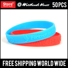 Rubber wristbands | Promotional black silicone wristband | Customized black silicone bracelet wristbands