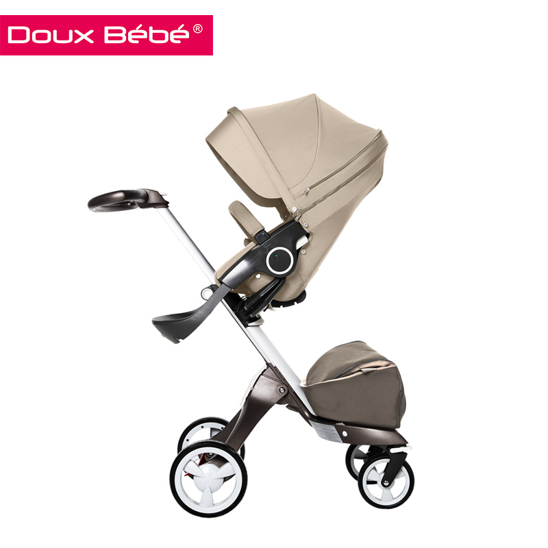 Doux bebe 2015 best selling baby product four wheels foldable baby carriage