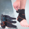 Adjustable Comfortable Silicone Tube Ankle Support