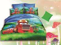 car printed children cartoon bedding for home use
