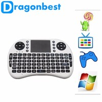 Low Price 2.4G Mini Rii I8 Wireless Keyboard With Touchpad Fly Air Mouse For Andriod Tv Box Tablet Pc3