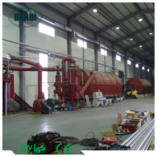 Automatic tyre pyrolysis machine with ISO