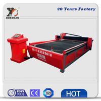 Bossman water table type CNC plasma cutting machine factory direct sale