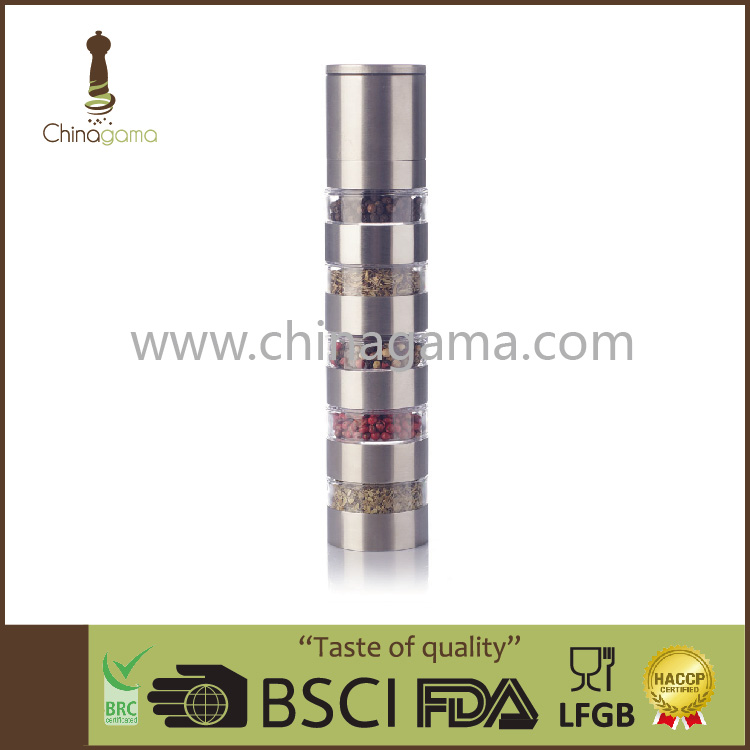 stainless steel himalaya pepper mill