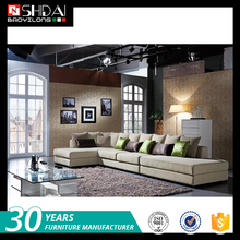 Best selling popular top grade modern design set sofa with kiln dried solid wood