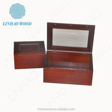 Cheap small unfinished excellent handmade wooden gift box wholesale for crafts