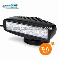 5pcs*3W high intensity Epistar LEDs,SM6152, led fog light bar