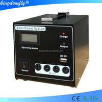 10W Mini solar electricity generating system for home using
