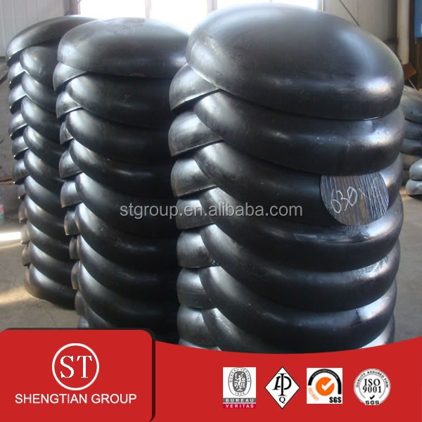 6 inch sch40 seamless 45 degree carbon steel bend / tee/ elbow /cap /reducer / flange / pipe fitting