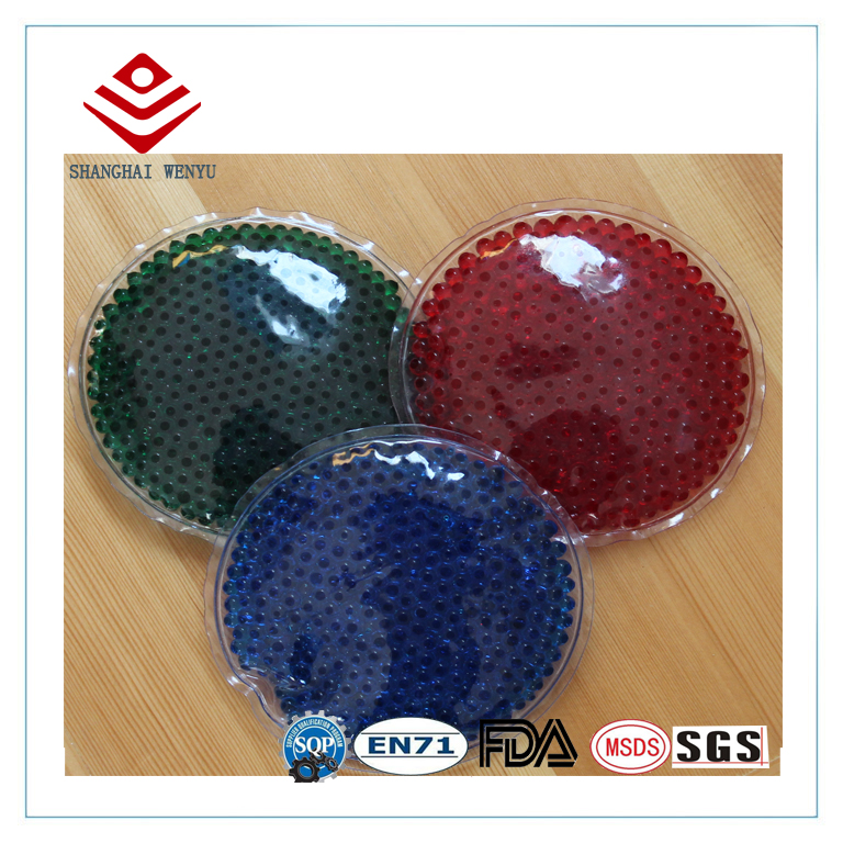 Microwaveable and Freeze Gel Beads Ice Pack