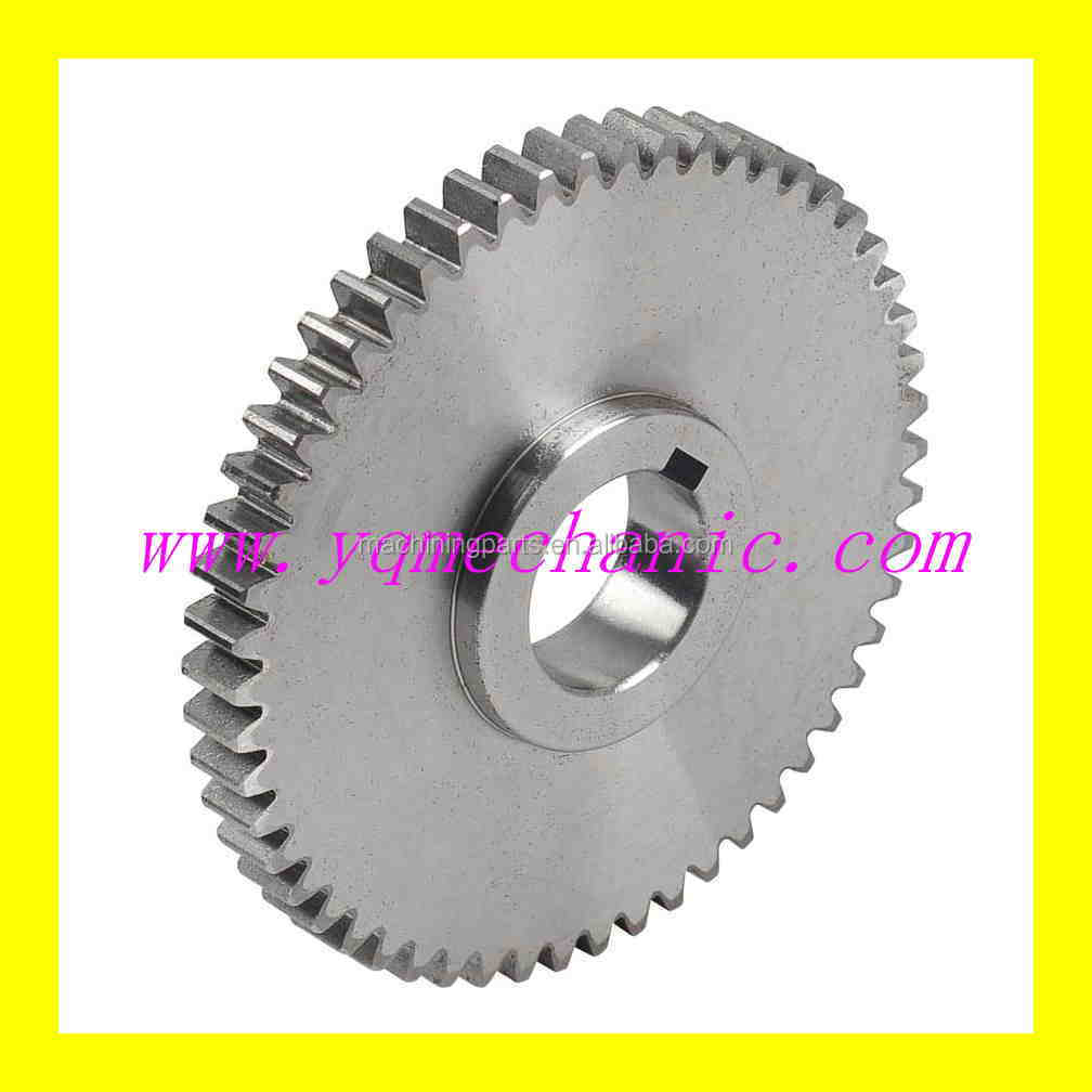 CNC machining part for Spur Gears/laser Equipment Parts