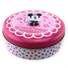 Colored mini gift round metal tin tool box