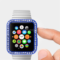 For Apple Watch Protector Soft TPU+Diamond Protect Case For Apple Watch 38mm 42mm