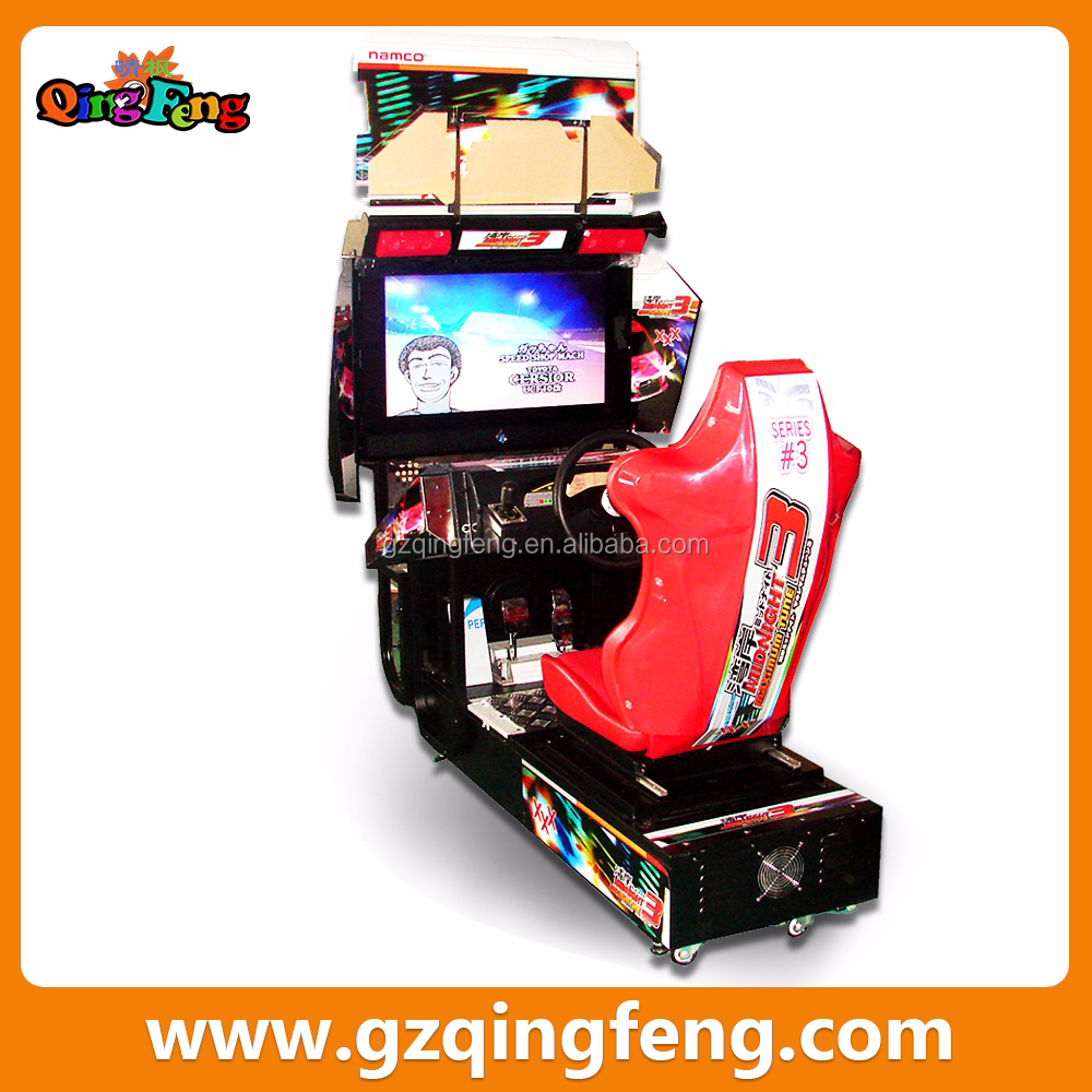 Qingfeng coin operated Racing Game Type arcade racing car driving simulator