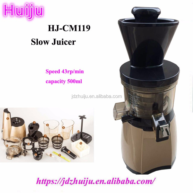Factory cheap price 500ml fruit slow juicer for home use HJ-CM119
