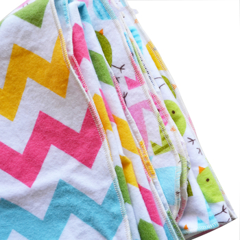 100% cotton flannel printed fabric