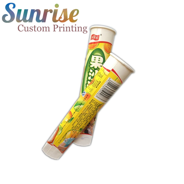 Sunrise Ice Cream Calippo Cup Calippo Paper Tube Ice Cream Paper Cup