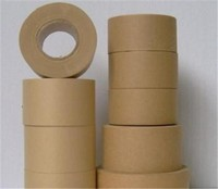 custom size high temperature self adhesive waterproof kraft gummed tape