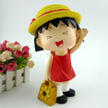custom 3d plastic cute cartoon character action figure for gifts item