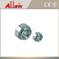 Stainless steel press nuts