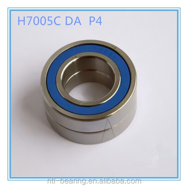 high precision Angular contact ball bearing H7005C-2RZDT P4 for Engraving machines
