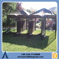 Durable and unti-rust galvanized big dog house with proof