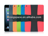 hybrid fancy TPU+PC case for ipad air