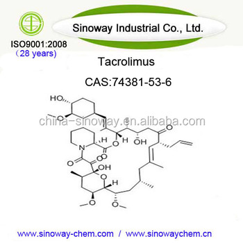 99% pure Tacrolimus powder (FK-506)