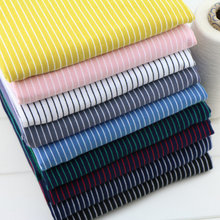 4 way stretch multicolor rainbow stripe apparel fabric