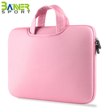 "Waterproof laptop sleeve case protective bag for 11.6'' to 15.6"" MacBook Air Pro Retina ultrabook notebook carrying case"