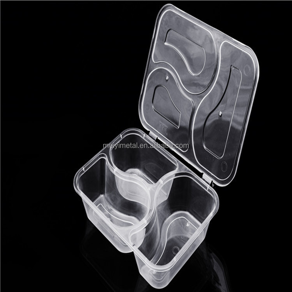 Disposable Plastic 3 Compartment lunch box