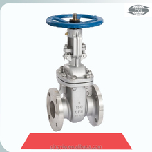 stainless steel 316 gate valve with pneumatic actuator