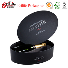 Special shape wine paper packaging box
