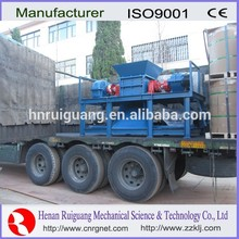 High performance china fully automatic shredder machine wood crusher with ce/iso certificate