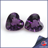 beautiful gemstone supplier 8*8mm natural wholesale amethyst