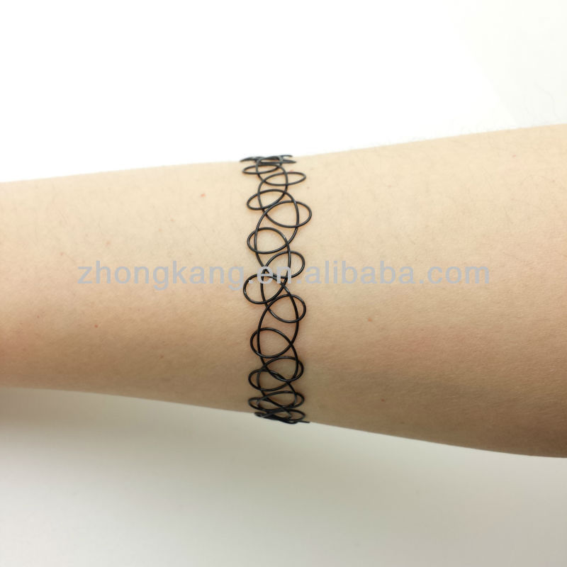 fashion tattoo jewelry necklace/bracelet/ring