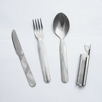 2017 Detachable Stainless Steel Mini Pocket Cutlery Sets
