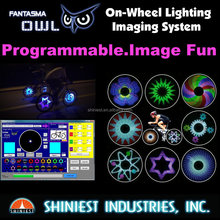 Shiniest Bike Wheel Accessories BK-2071 Bike Wheel Lighting Non-Programmable and Animation System