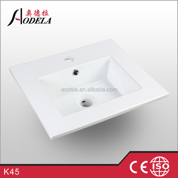 K45 ceramic small size wash basin models price