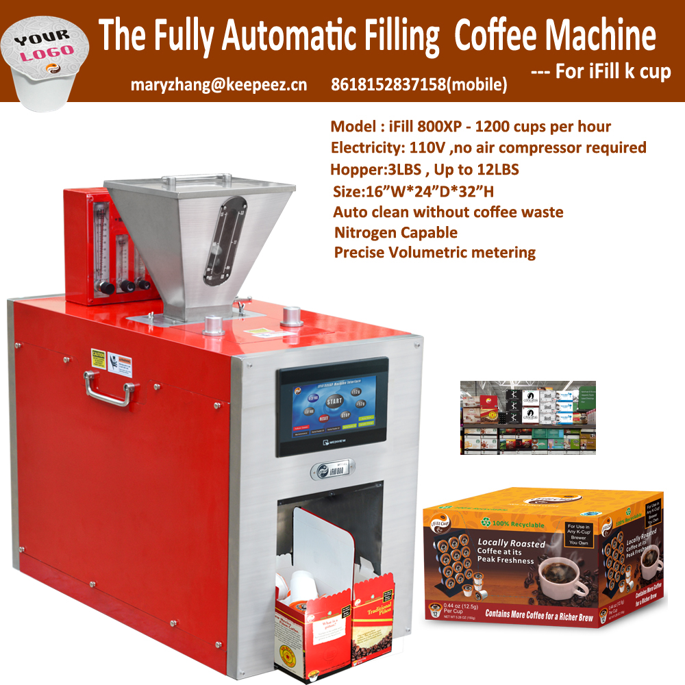 2016 New Innovative K Cup coffee Filling Sealing Machine / Packing Equipment