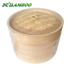 food use bamboo basket weaving bamboo steamer dim sum use for hot dag