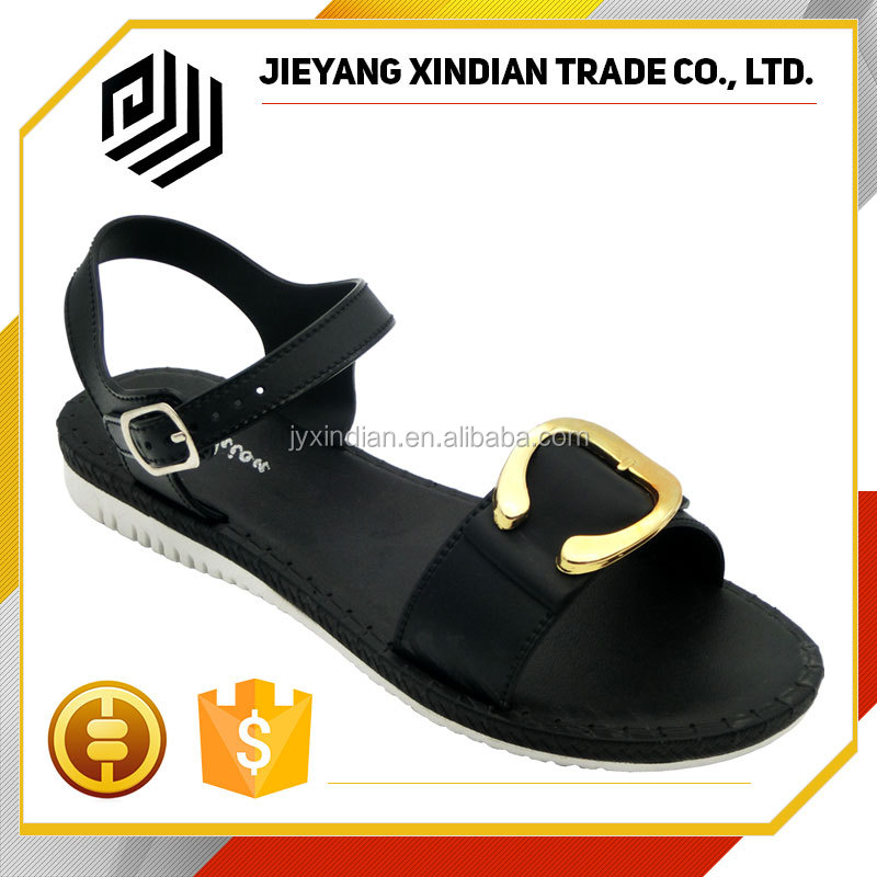 2016 fashionable becket new model women sandals wholesale
