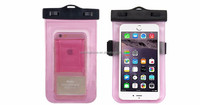 "waterproof PVC phone bag case for iphone 6 4.7"" and plus 5.5"""